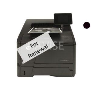 HP M401 Laser Printer Rental Renewal