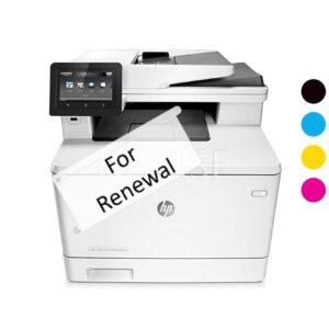 M477dn Printer Rental Renewal Credit